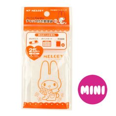 25-Pcs-My-Melody-Zip-Lock-Resealable-Bag-Storage-Pouch-Mini-7x10cm-2-7-x3-9