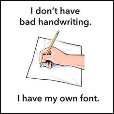 """What would you name your font? I call mine """"CMT sans serif."""""""