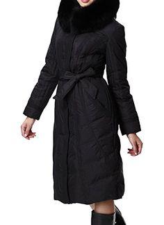 Yatyler Women's Bowknot Belt Winter Hooded Jacket with Faux Fur Trim  http://www.yearofstyle.com/yatyler-womens-bowknot-belt-winter-hooded-jacket-with-faux-fur-trim/