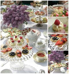 Amongst The Oaks: Monday Mosaic - Afternoon Tea