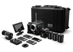 "EPIC-M package includes:    EPIC-M Brain with titanium PL mount  Bomb EVF® (comes with 5"" RED ARM and 18"" LCD/EVF Cable)  5in Touchscreen LCD (comes with 12"" LCD/EVF Cable and RED MicroFiber Bag – Medium)  DSMC® Side Handle  DSMC® Side SSD Module  REDmote®  4x 128GB SSD cards  4x REDVolt® batteries and travel charger  EPIC Pelican 1510 case  2 years of warranty coverage"