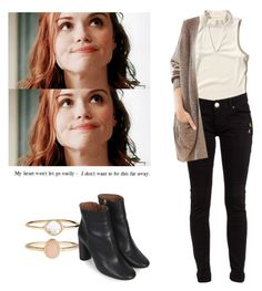 Lydia Martin - tw / teen wolf by shadyannon on Polyvore featuring polyvore fashion style Hollister Co. BDG Topshop Accessorize clothing
