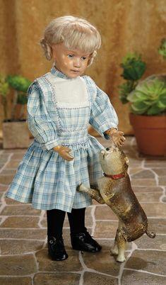 A Matter of Circumstance: 143 American Wooden Doll, Model 311, by Schoenhut