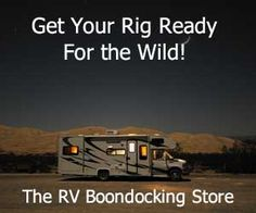 RV Boondocking, Guide to Camping Without Campground Hookups