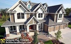 Plan W73340HS: Craftsman, Exclusive, Luxury, Northwest, Photo Gallery, Premium Collection House Plans  Home Designs