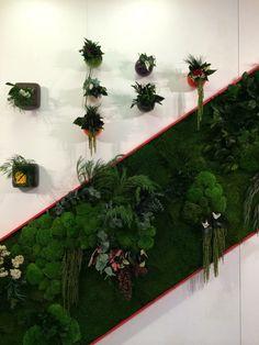 Flowerbox's vertical wall gardens