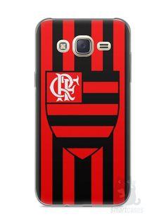 Capa Capinha Samsung J7 Time Flamengo #1 - SmartCases - Acessórios para celulares e tablets :)