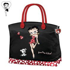 Betty Boop And Polka Dots Handbag