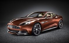 Aston Martin has lifted the lid on its new top-of-the-line model: the 183mph, carbon-fiber Vanquish,