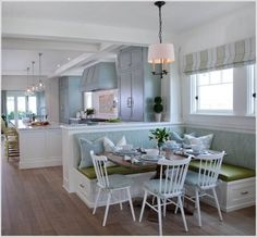If your home has a breakfast nook then make the maximum use of the space by making your breakfast nook function as a storage space too. There are many ways