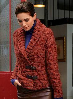 592 - Short jacket - Créations 12/13 bergere de france