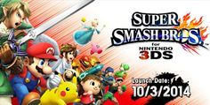 Quick review of the new Super Smash Bros. 3DS game.