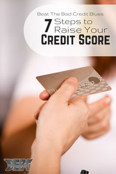 Your #CreditScore gives you more headaches than 1,000 screaming 2-year-olds (that's up for debate). But, what can you do about it? Learn how to raise your credit score: http://www.debtroundup.com/7-steps-beating-bad-credit-blues/#ogPSGmSYuot8HGdD.99