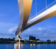Nescio Bridge by Wilkinson Eyre Architects Ltd