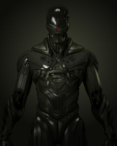 Brilliant 3D SciFi armour - design by UltraVD ...................... how to explain to people how i need this  ;)