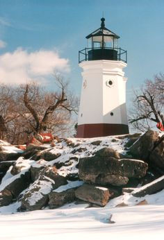 Vermilion Lighthouse.