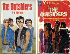 Keep cool, Ponyboy. The copy on the right... looks just like mine...I have read this book so many lovely times.