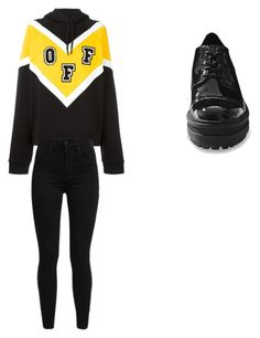 """""""Collage prepotente"""" by patricia-cuesta on Polyvore featuring moda, Off-White, Levi's y Steve Madden"""