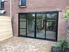 Doors And Floors, House In Nature, Garage House, Romantic Homes, Bedroom Doors, Beautiful Living Rooms, Scandinavian Home, Window Design, Patio Doors