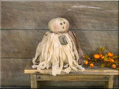 Halloween & Harvest - Page 4 - Honey and Me, Inc. Fun Halloween Crafts, Halloween Doll, Halloween Ghosts, Diy Halloween Decorations, Fall Crafts, Fall Halloween, Holiday Crafts, Happy Halloween, Halloween Stuff