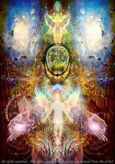 Sacred Light Visions - The Art of Kim Dreyer - The Art of Kim Dreyer