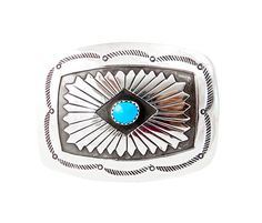 Vintage Small Navajo Silver Turquoise by Highway66Treasures