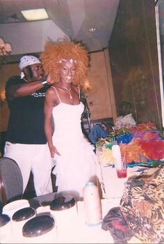 Frederick Parnell, Celebrity Hairstylist & Shauna Fung Yee, CEO Down 2 Earth Productions ( 2004 Avalon Photo Shoot)