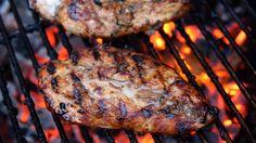 Grilled Greek Chicken Breasts