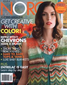 NORO KNITTING MAGAZINE №95, Spring summer 2015 Issue 6 Trié
