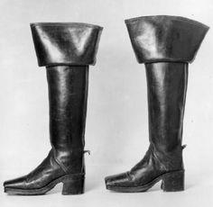 Stövel med spets 1800 talet. Läder | Boots, Stövel, Skor