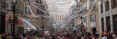 La Cabalgata Histórica pone punto y final a la Feria de Málaga.