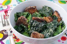 kid friendly caesar salad - Marin Mama Cooks
