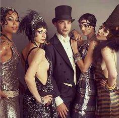 How to Throw a Fabulous Adults Only Halloween Party | eBay @GatsbyMovie via Instagram