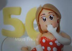 Topo de bolo - 50 anos