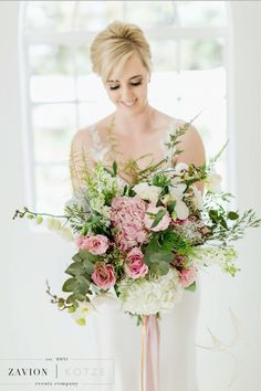 Botanical bouquet - wild flower bouquet - bridal bouquet - beautiful bridal bouquet.