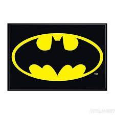 Batman Symbol Magnet from DC Comics and Gotham's vigilante / protector, the Dark Knight. Batman Merchandise, Bat Symbol, Odd Future, Gotham City, Bat Signal, Dark Knight, Superhero Logos, The Darkest, Dc Comics