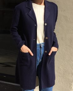 Please dm email to purchase. Vintage 100% wool navy light jacket. Size small. $64 + shipping. SOLD