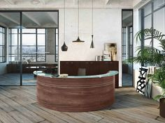 "Résultat de recherche d'images pour ""comptoir d'accueil"" Reception, Bathtub, Images, Public, Italia, Counter Top, Search, Standing Bath, Bathtubs"