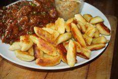 Kopytka , odsmażane najlepsze , przepis French Toast, Pierogi, Chicken, Meat, Dinner, Breakfast, Recipes, Food, Dining