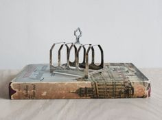 Vintage English Silver Toast Rack by RiseAndShineVintage on Etsy, £65.00