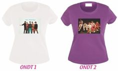 the shirt of one direction  we have  the shirt original in colour  white, yellow, red, blue , pink and  purple, each shirt has one different photo of one direction, we have   in size , large, medium and small , it costs only $ 150.00