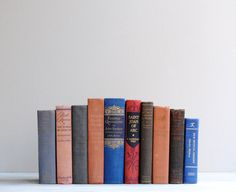 Vintage Classic Literature Book Collection by LittleDogVintage