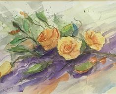 "Where ART Lives Gallery Artists Group Blog: ""Roses"" by Florida Artist Fay Kelley"