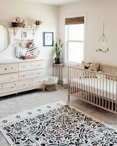 30 Very Adorable Baby Boy Nurseries Ideas for Moms 2019 If youre planning on bringing a baby home soon congratulations! Create a beautiful room and an adorable baby nursery for baby with the help of these delightful decor ideas. Well of course it Baby Room Design, Baby Room Decor, Nursery Room, Girl Nursery, Kids Bedroom, Boho Nursery, Nursery Design, Themed Nursery, Ikea Baby Nursery
