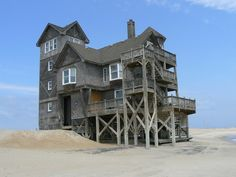 """Nights in Rodanthe House"", Rodanthe, NC....someday that will be my house....when I win the lottery."