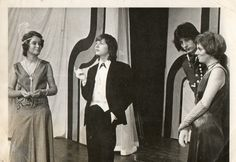Lidbury centre picture: Type cast? as a homosexual character in a school play 1976 in a 1930' rendition of 'As you like it' http://www.lgbthistorycornwall.blogspot.com
