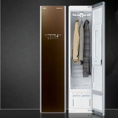 The Closet That Cleans, Irons, and Deodorizes Your Clothes