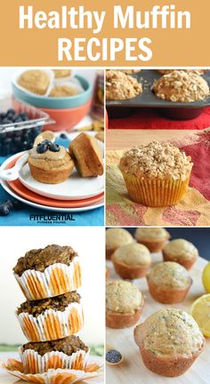 Healthy Muffin Recipes #healthy #recipe