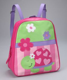 Take a look at this Turtle Go Go Backpack by Stephen Joseph on #zulily today!