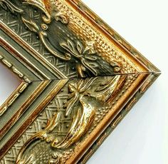 190 ft - Gorgeous Ornate Gold Picture Frame Moulding, Victorian Style, Wood #SouthernMoulding